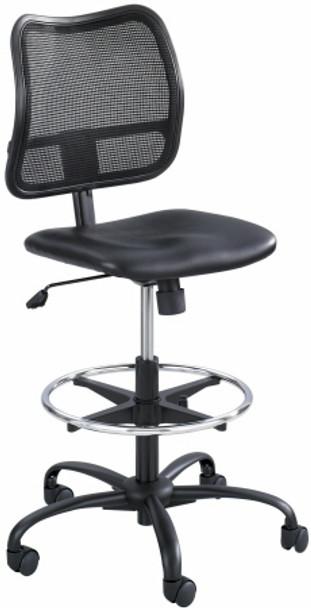 Safco Vue Mesh Back Vinyl Seat Drafting Chair [3395BV] -1