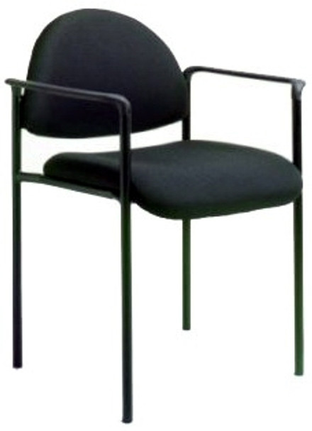 Stackable Steel Side Chair with Arms [B9501] -1