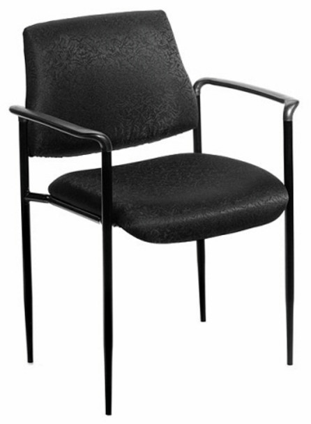 Boss Stacking Office Chair with Arms [B9503] -1