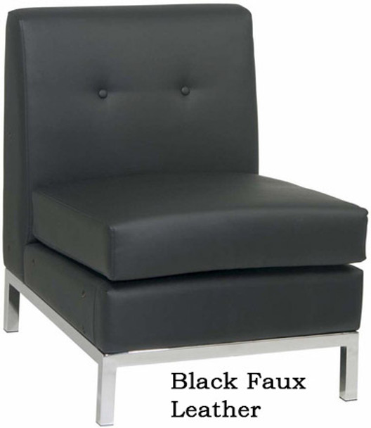 Wall Street Armless Modular Chair [WST51N] -1
