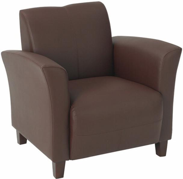 Wine Eco Leather Club Chair [SL2271] -1