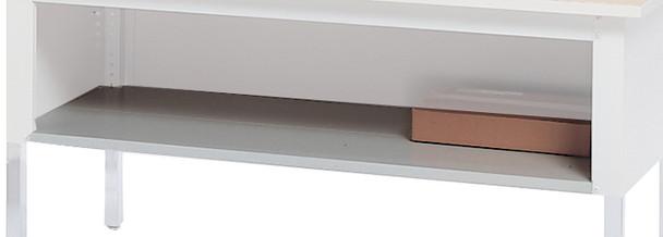 """Mayline Mailflow-To-Go Shelf for 60""""W Work Table [SLF60PG]-1"""