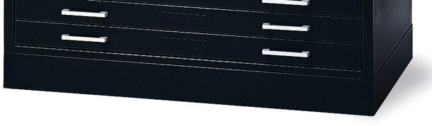 "Mayline C-Files Flush Base for 36""x48"" Sheets Black [7869WS5]-1"