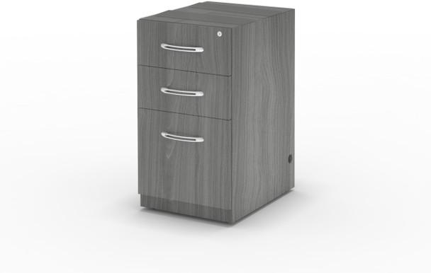 Mayline Aberdeen Suspended Desk PBF Pedestal Gray Steel [APBF26LGS]-1