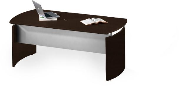 "Mayline Medina 63""W Desk Mocha Laminate [MND63LDC]-1"