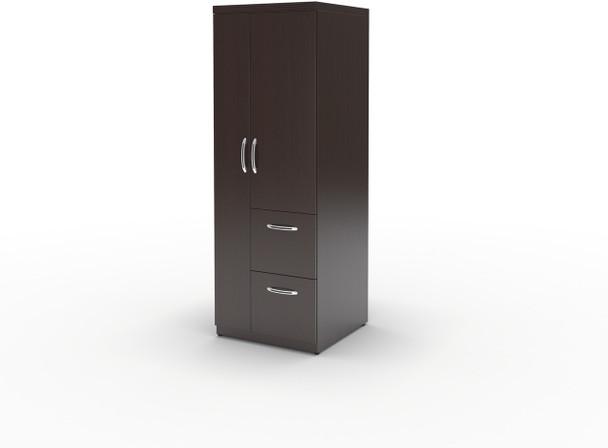 Mayline Aberdeen Personal Storage Tower Mocha [APSTLDC]-1