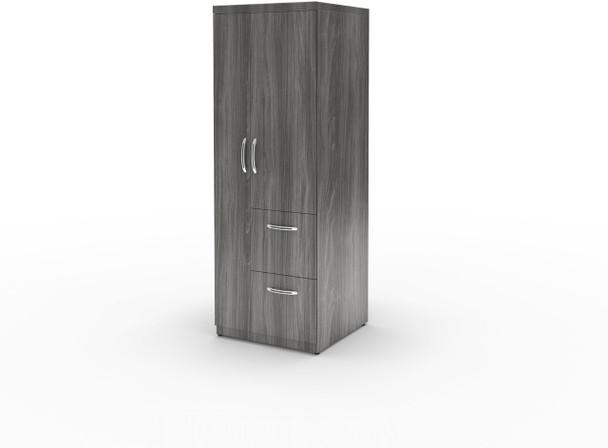 Mayline Aberdeen Personal Storage Tower Gray Steel [APSTLGS]-1