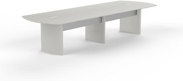 Mayline Medina 14' Conference Table Textured Sea Salt [MNC14TSS]-1