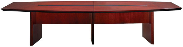 Mayline Corsica Conference Table Boat-Shaped Sierra Cherry [CMT14CRY]-1