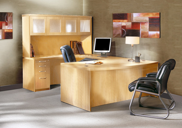 Aberdeen Executive Desk with Hutch [AT5]