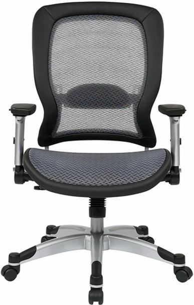 Office Star Air Grid All Mesh Office Chair [327-66C61F6] -1