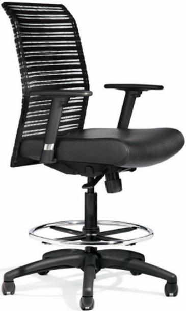 All Seating Zip Mesh Drafting Stool [95019] -1