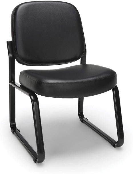 OFM Armless Vinyl Office Guest Chair [405-VAM]