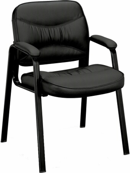Basyx Leg Base Leather Side Chair [VL643] -1