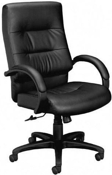 Basyx Plush Leather High Back Executive Chair [VL691] -1