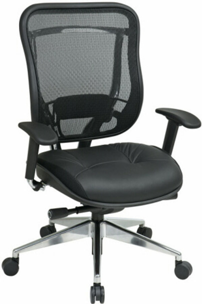 Big and Tall Ergonomic Mesh Chair [818A-41P9C] -1