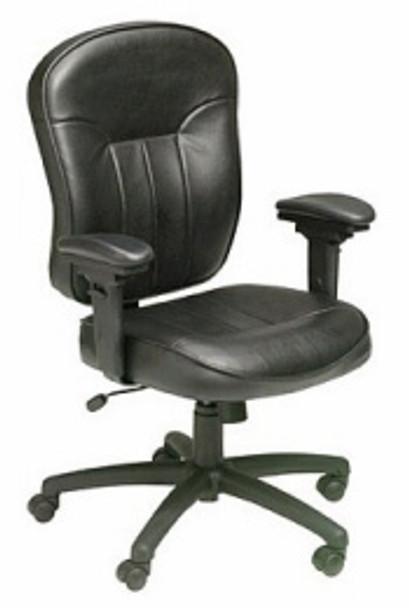 Boss Adjustable LeatherPlus™ Task Chair [B1561] -1