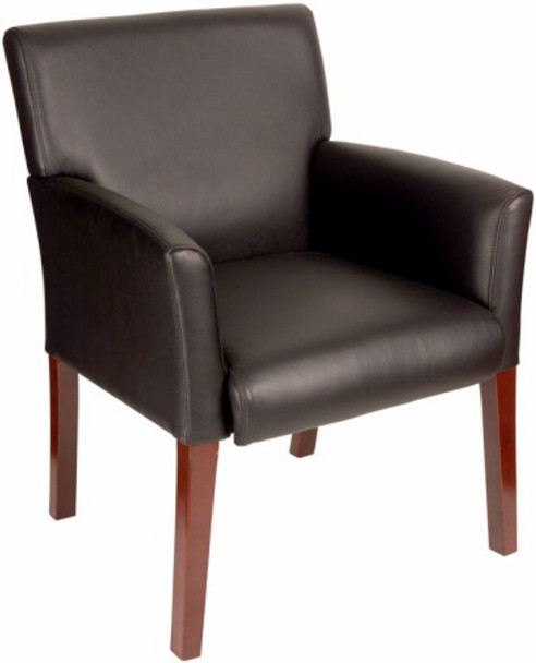 Boss Box Arm Waiting Room Chair [B619] -1