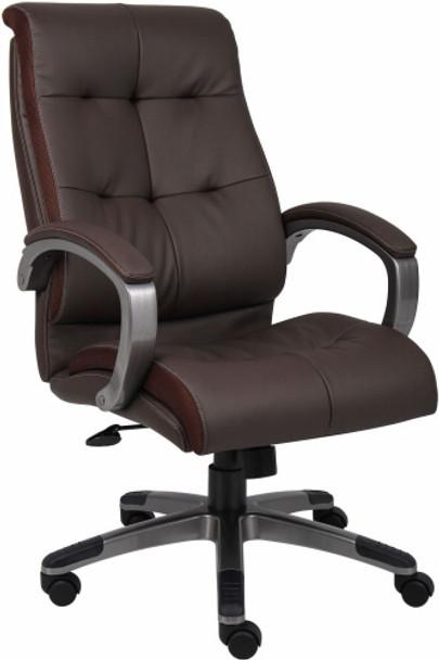 Boss High Back LeatherPlus Office Chair [B8771] -1