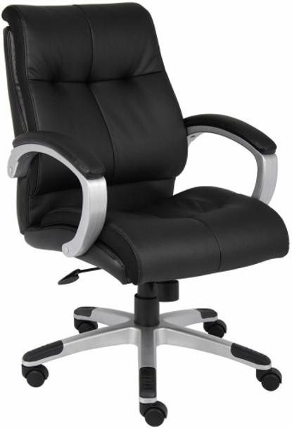 Boss LeatherPlus Mid Back Chair [B8776] -1