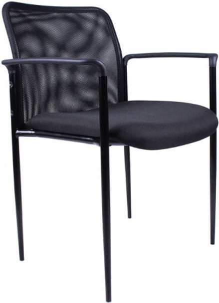Boss Mesh Back Stack Chair [B6909] -1