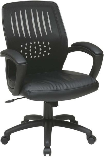 Contoured Mesh Back Visitor Chair [EM5972V] -1