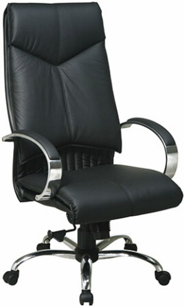 Deluxe High Back Leather Office Chair [8200] -1