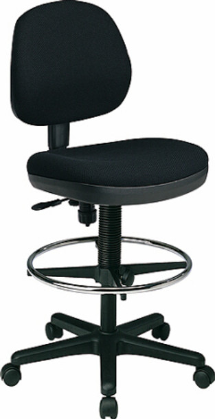 Flex Back Drafting Stool with Footring [DC800] -1