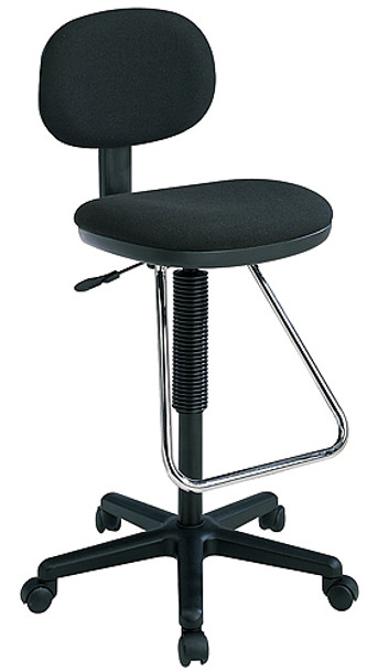 Drafting Stool with Teardrop Footrest [DC430] -1