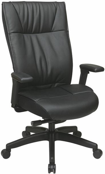 Office Star Executive Cow Split Leather Chair [9370-55NC17U] -1