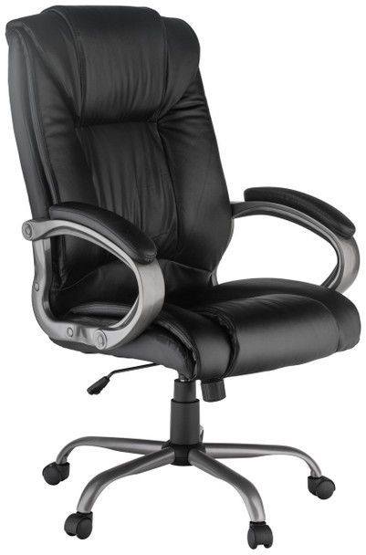 Harwick Leather Big and Tall Office Chair [8229] -1