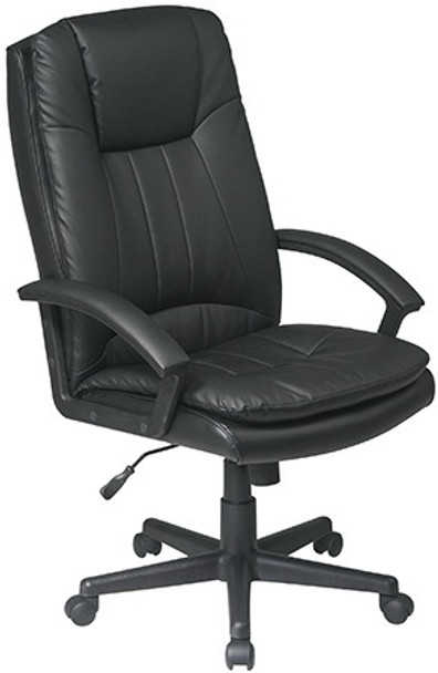 High Back Bicast Eco Leather Office Chair [EC22070] -1