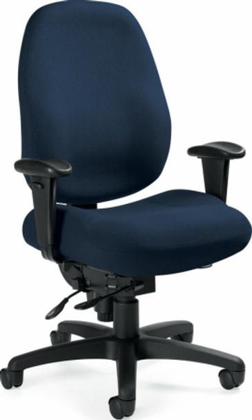 Global Dexter™ High Back Heavy Duty 24 Hour Chair [2436-1] -1