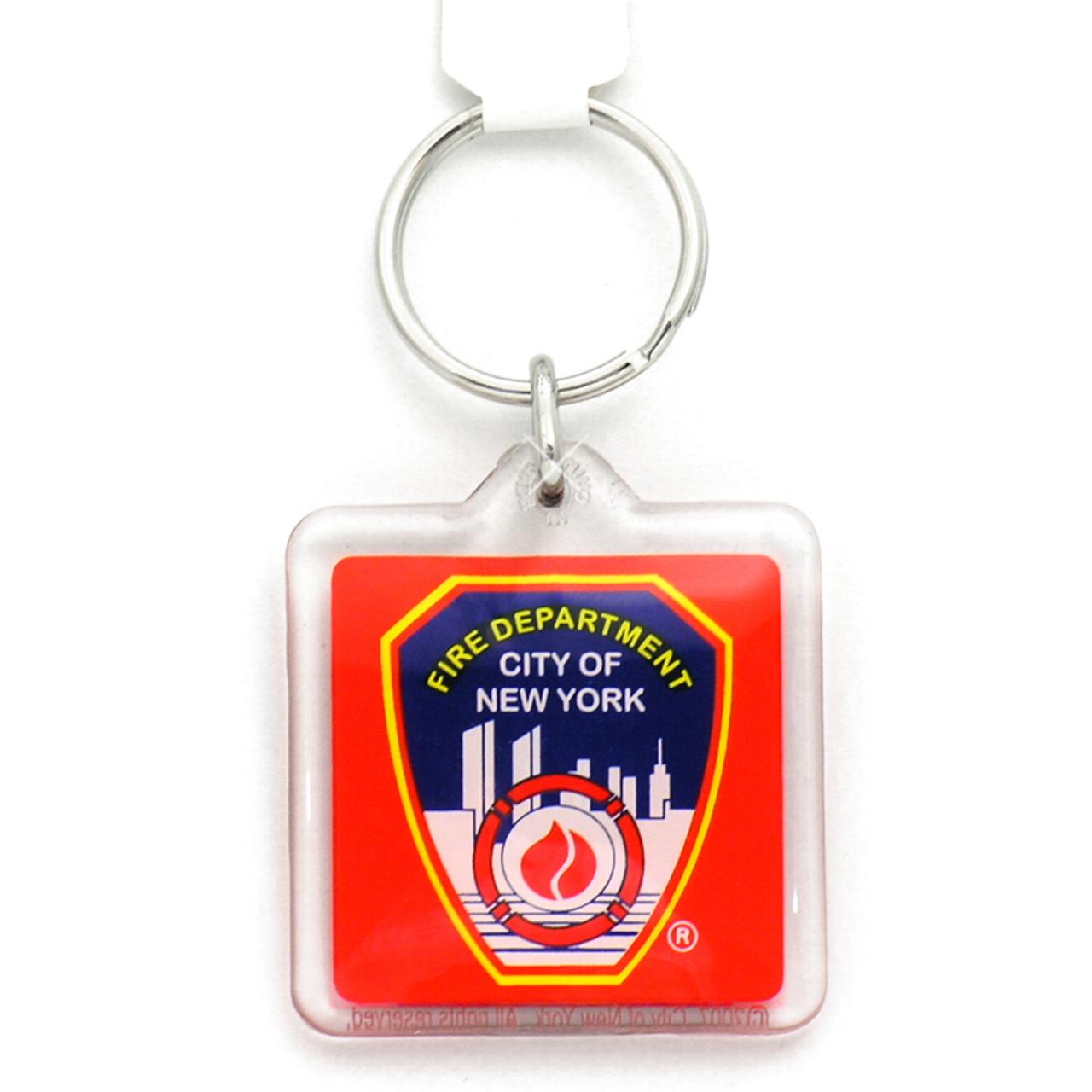FDNY Plastic Key Chain f78fc63e2fcc