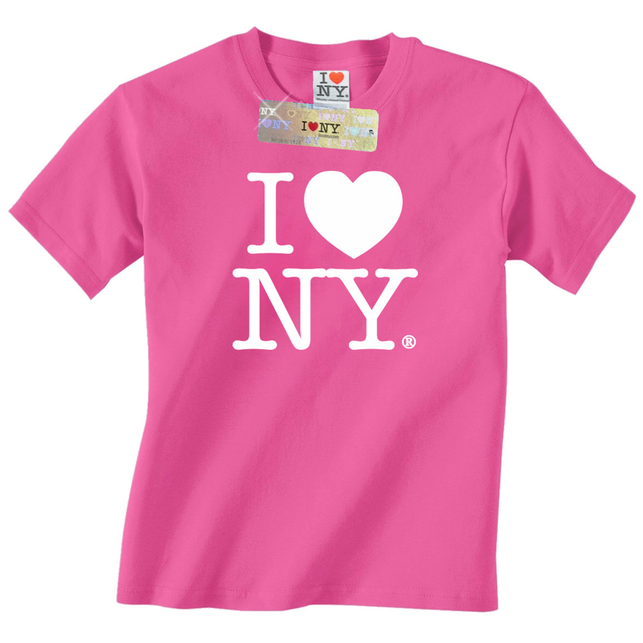 898ef1c5640a Hot Pink I Love NY T-Shirt. Brand   Clothing