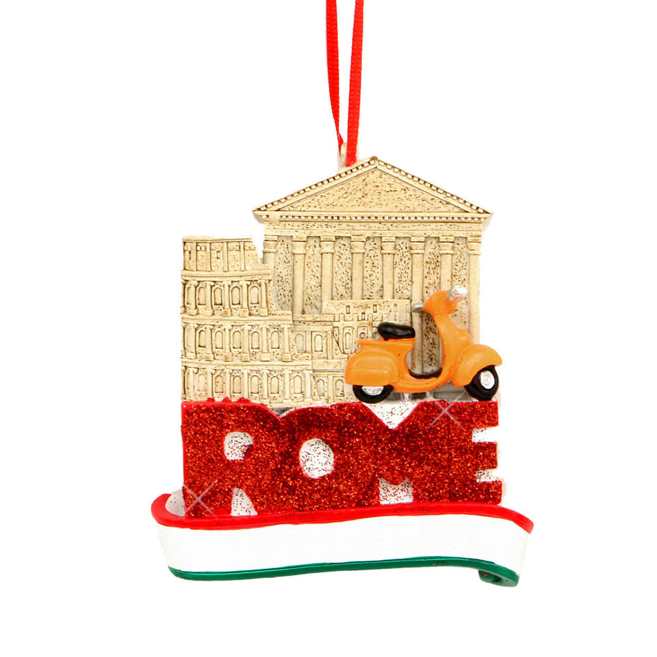 Roman Christmas Ornaments.Rome Landmarks Ornament For Personalization