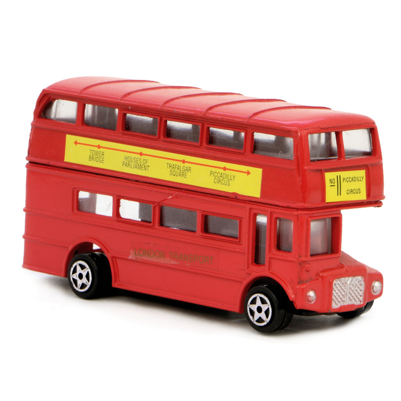 british double decker bus toy