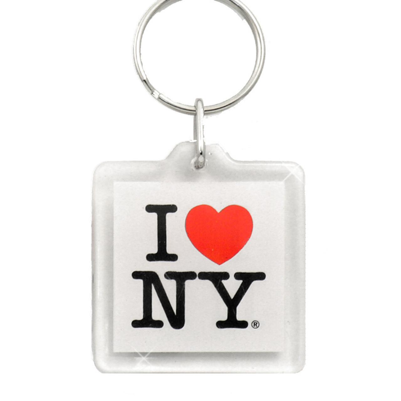 I Love NY Plastic Key Chain 45bdab0285
