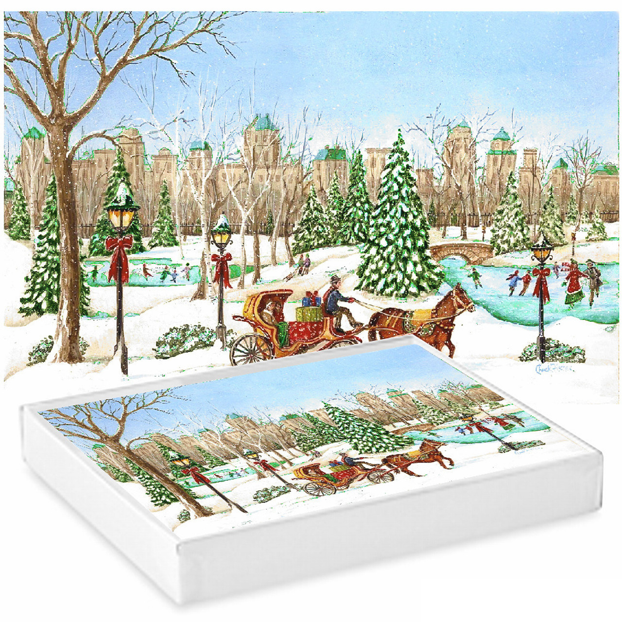 New Mexico Winter Notecards