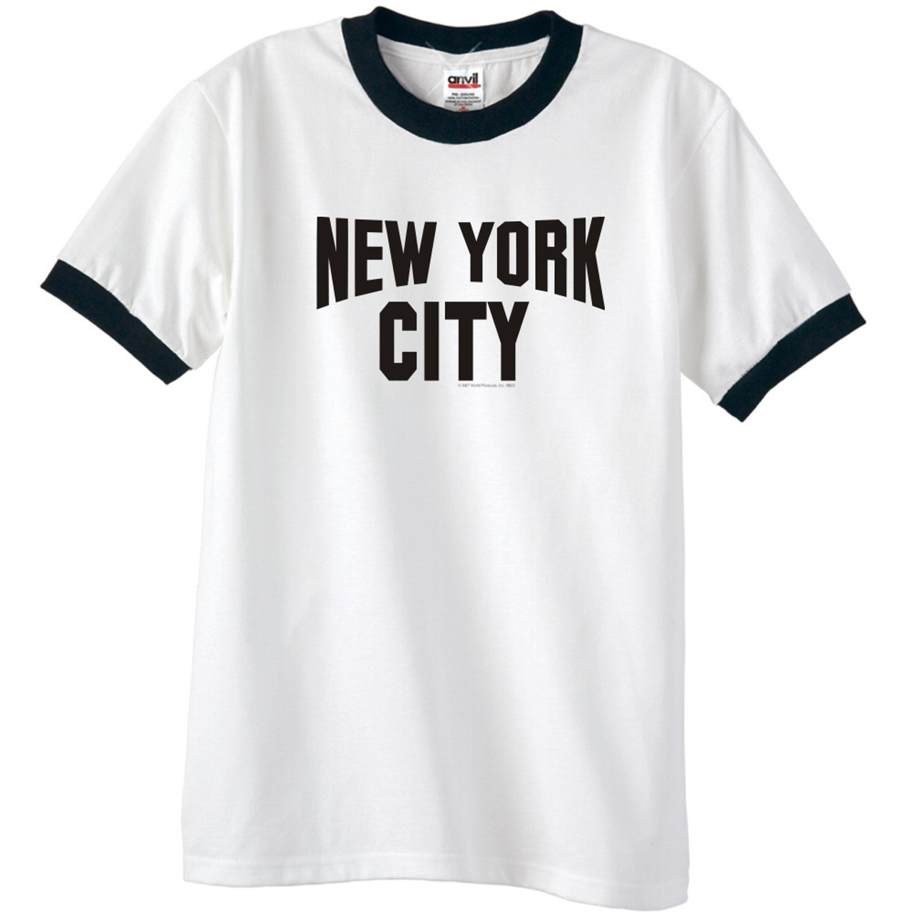 New York City Ringer T-Shirt - John Lennon. Brand   Clothing 4ca3326df9f