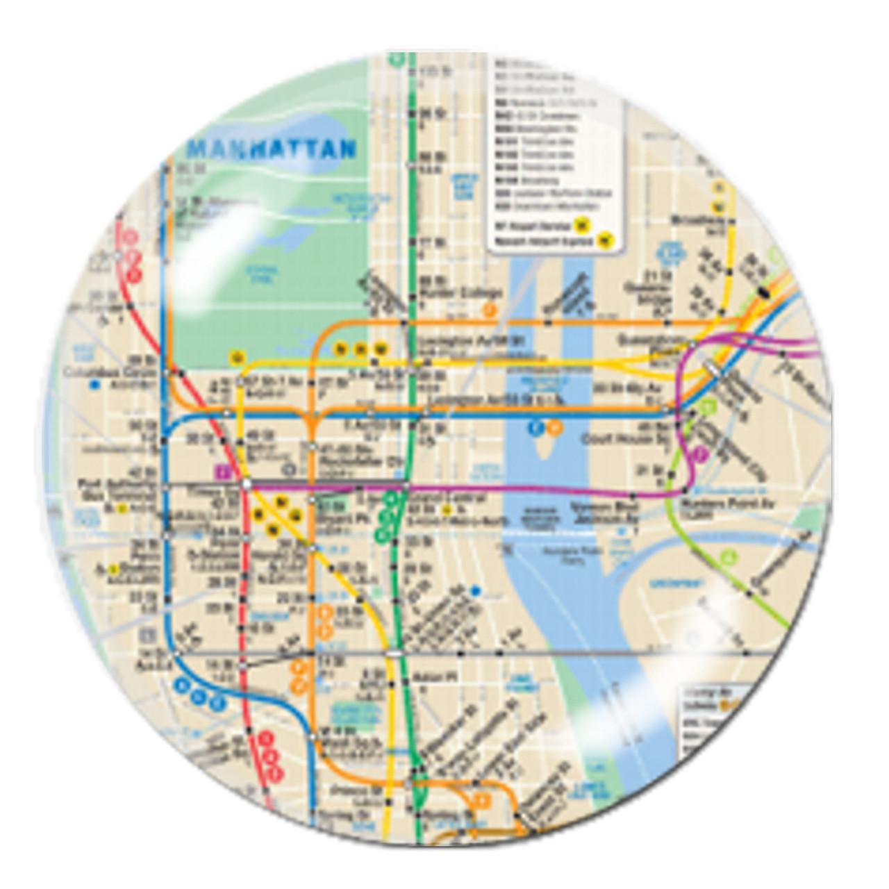 Blank Nyc Subway Map.Nyc Subway Map Crystal Paperweight