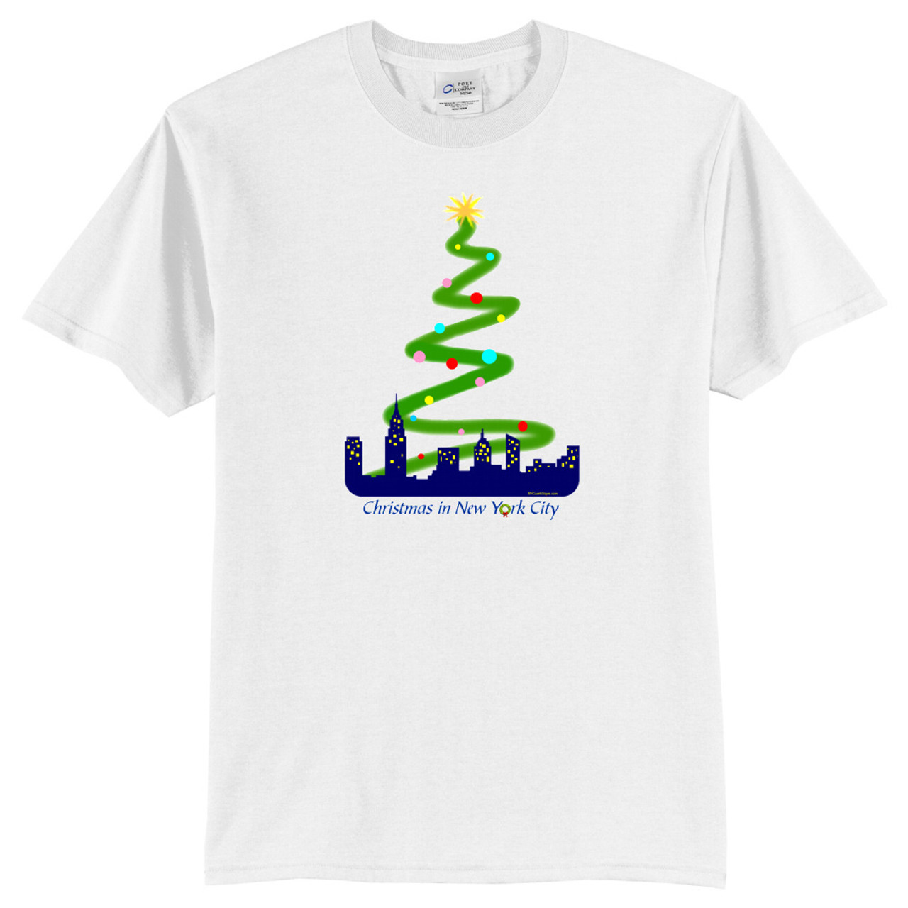 e27aa96f Christmas in New York City T-Shirts and Sweatshirts