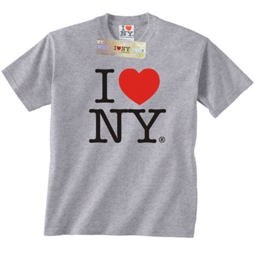 Gray I Love NY T-Shirt 8a07eb2d6e7