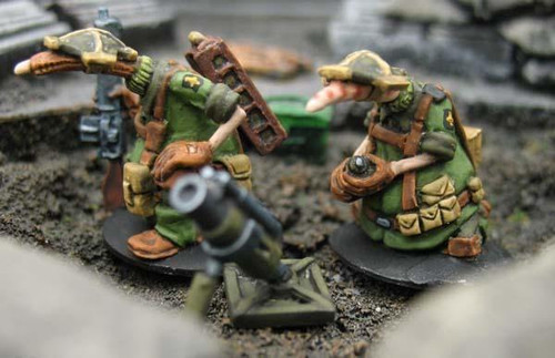 Crusader: Mortar team