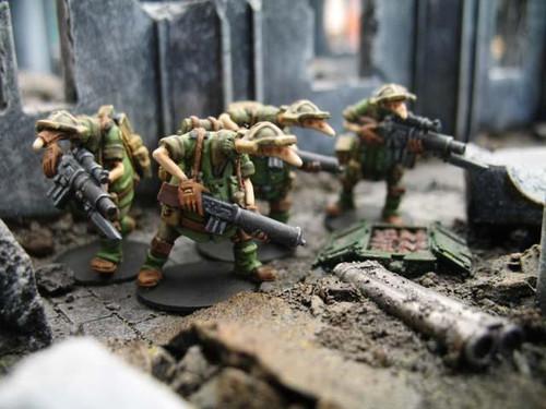 Crusader: Light Infantry Fireteam
