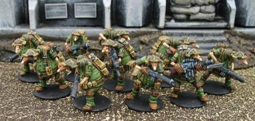 Crusader: Light Infantry Squad