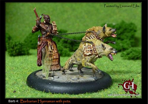 Hyenaman: Barbarian and Pets