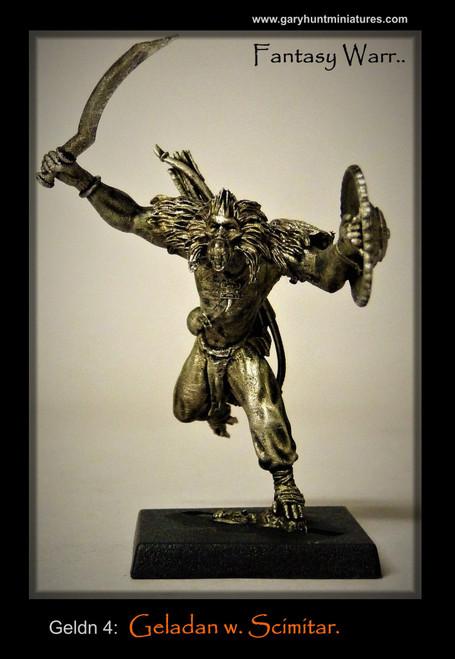 Geladan: With Scimitar (leaping)