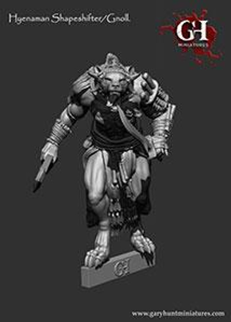 Hyenaman: Gnoll Shapeshifter
