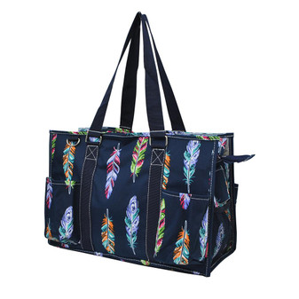 Feather Caddy Tote Bag